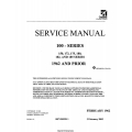 Cessna Model 100 Series (1953-1962) Service Manual D138R1-13 $19.95