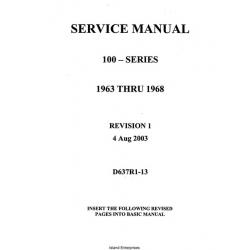 Cessna 100 Series D637-1-13 Service Manual/Maintenance Manual 1963 - 2003   $19.95