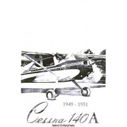 Cessna 140A Operation Manual 1949 - 1951 $6.95