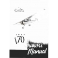 Cessna 170 Owner's Manual 1953 $5.95