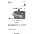 Cessna 172S Skyhawk SP Information Manual 1998 - 2004 $13.95