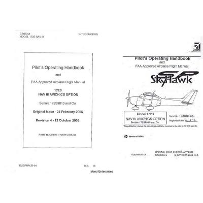 Cessna 172S Skyhawk SP NAV III Avionics Option Pilot S
