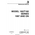 Cessna 182S and T182 Series 1997 and On Maintenance Manual 182SMM14 $29.95