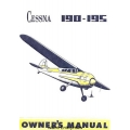 Cessna 190 and 195 Businessliner Owner's Manual $6.95