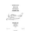 Cessna 206 Wipline Model 3450 Floats Parts Manual 2007 $9.95