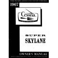 Cessna 206 Super Skylane Owner's Manual 1967