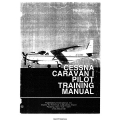 Cessna Caravan 1 Pilot Training Manual 1989 $9.95