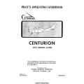 Cessna Centurion 210, 210M Pilot's Operating Handbook 1977