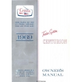 Cessna Centurion 210 C210J Turbo System Owner's Manual 1969 $6.95