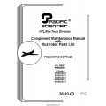 Cessna Pneumatics 36-10-03 Component Maintenance Manual & Parts List 2003 $6.95