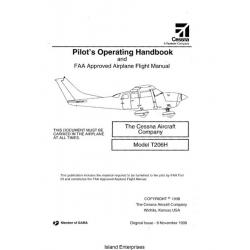 Cessna T206H Pilot's Operating Handbook 1998 - 2004