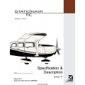 "Cessna T206H Stationair TC Specification & Description Exhibit ""A"" 2011 $4.95"