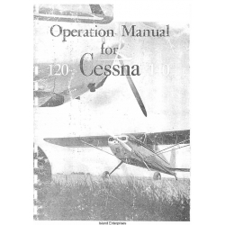 Cessna 120 and 140 Operation Manual $6.95