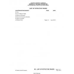 Cessna Model 120/140/170/190/195  Suplemental Inspection Document  C100SID $29.95