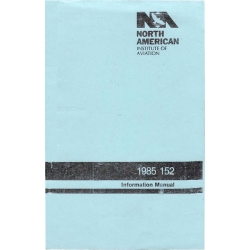 Cessna 152 North American Institute of Aviation Information Manual 1979 - 1985