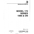 Cessna 172R 172S Maintenance Service Manual!  $29.95