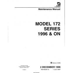 Cessna 172R 172S Maintenance Service Manual!  $29.95