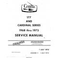 Cessna 177 and Cardinal Series Service Manual 1968-1975