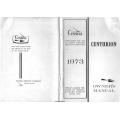 Cessna Model 210L Centurion Owners Manual 1973 $6.95
