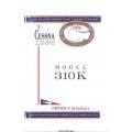 Cessna Model 310K Owner's Manual 1966