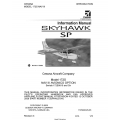 Cessn 172S Skyhawk SP Information Manual $13.95