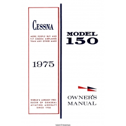 Cessna Model 150 Owner's Manual $13.95