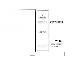 Cessna Model 210L Centurion Owners Manual 1975 $6.95