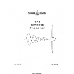 Chadwick Helmuth The Smooth Propeller Balancer Operation Manual 1988 $9.95