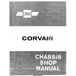Chevrolet Corvair Chassis Shop Service and Repair Manual 1965 $9.95