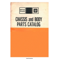 Chevrolet GM Chassis and Body Models 1967 Thru 1975 Parts Catalog 1976 $13.95