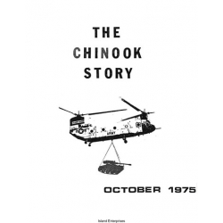Boeing CH-47 Chinook Helicopter History Booklet 1975