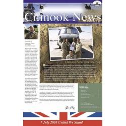 Boeing CH-47 Chinook News Reaches Iraq 2005 - 2009