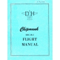 DHC-1B-2 Chipmunk De Havilland Flight Manual/POH $2.95