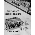 Chris Craft Marine Engines For All Models Instructions Manual $4.95