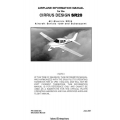Cirrus Design SR20 Airplane Information Manual 2007 $13.95