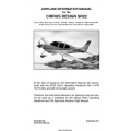 Cirrus Design SR22 Airplane Information Manual 2011 $9.95