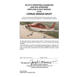 Cirrus Design SR22T Pilot's Operating Handbook $9.95