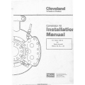 Cleveland Wheels and Brakes Chrome Disc 199-49 Coversion Kit Installation Manual