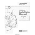 Cleveland Wheels and Brakes Conversion Kit 199-49 Installation Manual