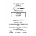 Columbia 400 LC41-550FG Aircraft Pilots Operating Handbook 1975 - 1984