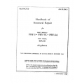 Consolidated PBY-5, PBY-5A & PBY-6A  Structural Repair Handbook 1945 $29.95