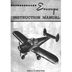 Continental 415-C Ercoupe C-75 Engine Instruction Manual $5.95