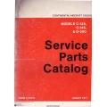 Continental C-125, C-145 and O-300 Aircraft Engine Service Parts Catalog 1977