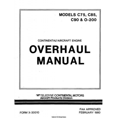 continental a65 overhaul manual pdf
