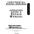 Continental Diesel Engines Operators Guide & Repair Manual 2006 $9.95