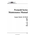 Continental IO-520-B, BA,BB,C,CB,M,MB Permold Series Maintenance Manual 1998 $13.95