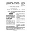 Teledyne Continental Motors SID97-3E Fuel Flow Aircraft Engine Service Information $5.95