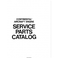 CONTINENTAL C75, C85, C90  and O-200 SERVICE PARTS CATALOG 1975