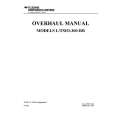 Continental L/TSIO-360-RB X30596A Supplement 1 Overhaul Manual $19.95