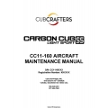 Cub Crafters Carbon Cub Light Sport SS CC11-160 Aircraft Maintenance Manual 2011 $13.95